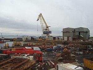 Burntisland Shipbuilding Company - Burntisland Fabrications yard in 2008