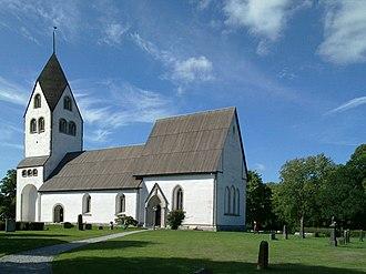 Burs, Gotland - Burs Church
