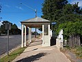 Bus stop on Wallace Street Braidwood March 2021.jpg
