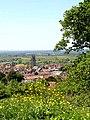 Bushy Coombe looking down on Glastonbury - geograph.org.uk - 183457.jpg