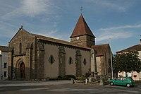 Bussière-Poitevine - Église Saint-Maurice 01.JPG