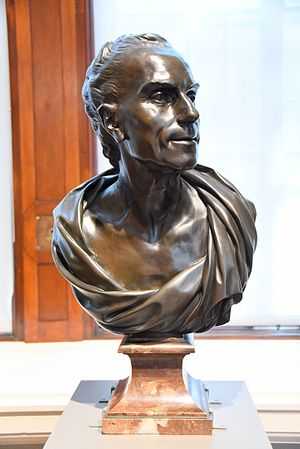 Claude Joseph Vernet - Bust of Claude-Joseph Vernet, 1783 CE. From Paris, France. By Louis-Simon Boizot. The Victoria and Albert Museum, London