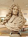 Bust of Edouard Colbert, Marquis de Villacerf, by Antoine Coysevox, c. 1690-1700, France, white marble - Museum of Fine Arts, Springfield, MA - DSC04078.JPG