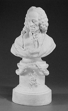 Büste von Voltaire, Paul-Louis Cyfflé. (Quelle: Wikimedia)