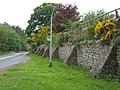 Buttressed wall, Doddington Village - geograph.org.uk - 1308202.jpg