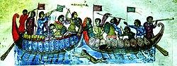 Byzantinischer Kampfschwimmer