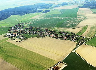 Byzhradec - Air view