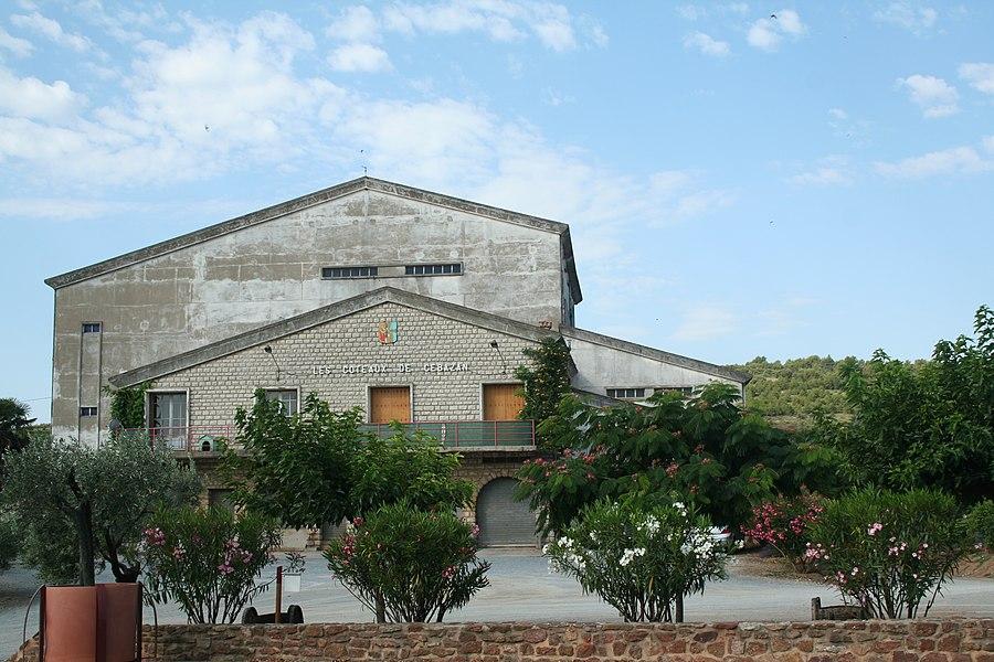 Cébazan (Hérault) - coopérative viticole