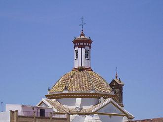 Montalbán de Córdoba - Dome of El Calvario.