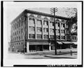 CA. 1910 VIEW OF THE HOTEL LENOX. - Hotel Lenox, 1100-1116 Southwest Third Street, Portland, Multnomah County, OR HABS ORE,26-PORT,5-26.tif