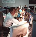 CAPCOM Stephen Robinson during STS-103.jpg