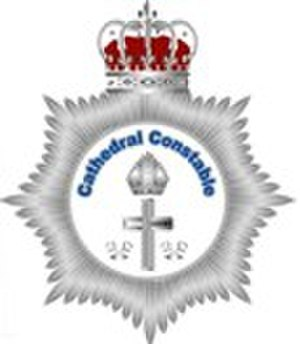 Cathedral constable - Badge of the Cathedral Constables' Association