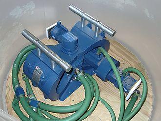Crossed-field amplifier - Image: CFA L 4756A