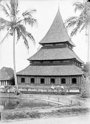 Bingkudu Mosque - Bingkudu Mosque during 1890–1916