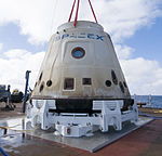 COTS-1 Dragon After Return from Orbit.jpg