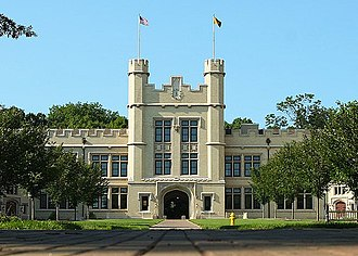 College of Wooster - Kauke Hall is the main academic building on campus