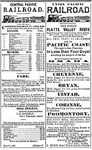 overland route union pacific railroad wikipedia