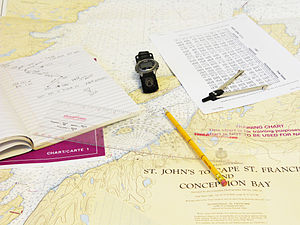 Dead reckoning - Dead reckoning navigation tools in coastal navigation