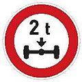 CZ-B14 Zákaz vjezdu vozidel jejichž okamžitá hmotnost připadající na nápravu přesahuje vyznačenou mez.jpg