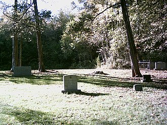 Grace Church (Ca Ira, Virginia) - View of the church cemetery.