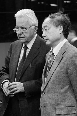 Makoto Kobayashi (physicist) - Nicola Cabibbo and Makoto Kobayashi