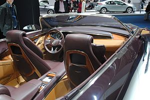 Cadillac Ciel - Interior