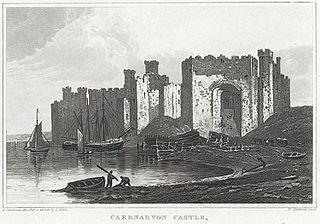 Caernarvon Castle, Caernarvonshire