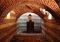 Cairo, monastero di san mercurio, cella del grande eremita san barsoum detto il nudo.JPG