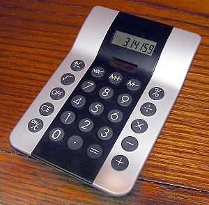 Keypad - A calculator