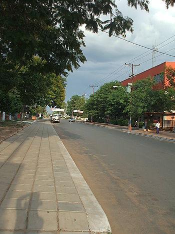 Calle en MRA