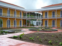 Campus Camp Jacob, Saint-Claude (Guadeloupe).