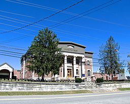 Campbell County Courthouse i Jacksboro.