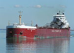 Canada Steamship Lines self unloading lake freighter -a.jpg