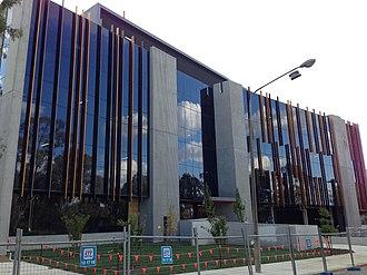 Bruce, Australian Capital Territory - Image: Canberra University building, April 2013