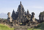 Candi Sewu viewed from the south, 23 November 2013.jpg