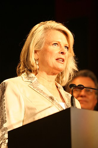 Candice Bergen - Bergen at the 2006 Peabody Awards