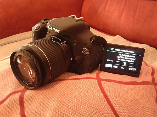 Canon EOS 600D - WikiMili, The Free Encyclopedia
