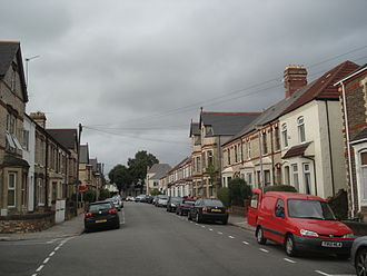 Canton, Cardiff - A typical Canton Street
