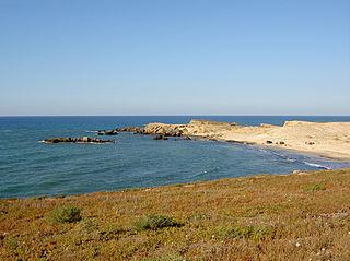 Cape Angela cape in Tunisia
