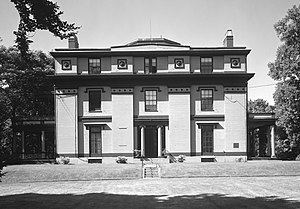 Captain Robert Bennet Forbes House - Front facade, in 1965