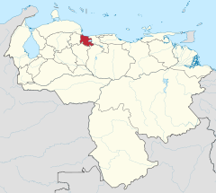 Carabobo in Venezuela.svg