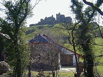 Carmarthenshire - Carreg Cennen Castle