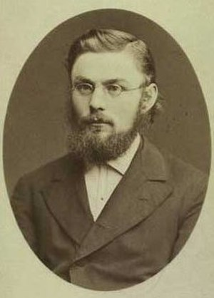 Carl Aarsleff - Photograph of Carl Aarsleff by N.E. Sinding, 1874