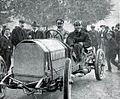 Carl Jörns, vainqueur de la côte de Château-Thierry sur Opel en 1908.jpg