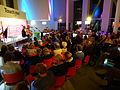Carla de Jong interviewt Thomas Rosenboom tijdens BoekenFEST 2016 in Assen.jpg