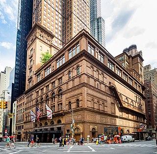 Carnegie Hall United States historic place
