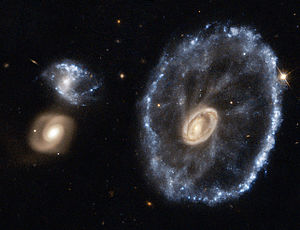 Space Telescope European Coordinating Facility - Image: Cartwheel Galaxy