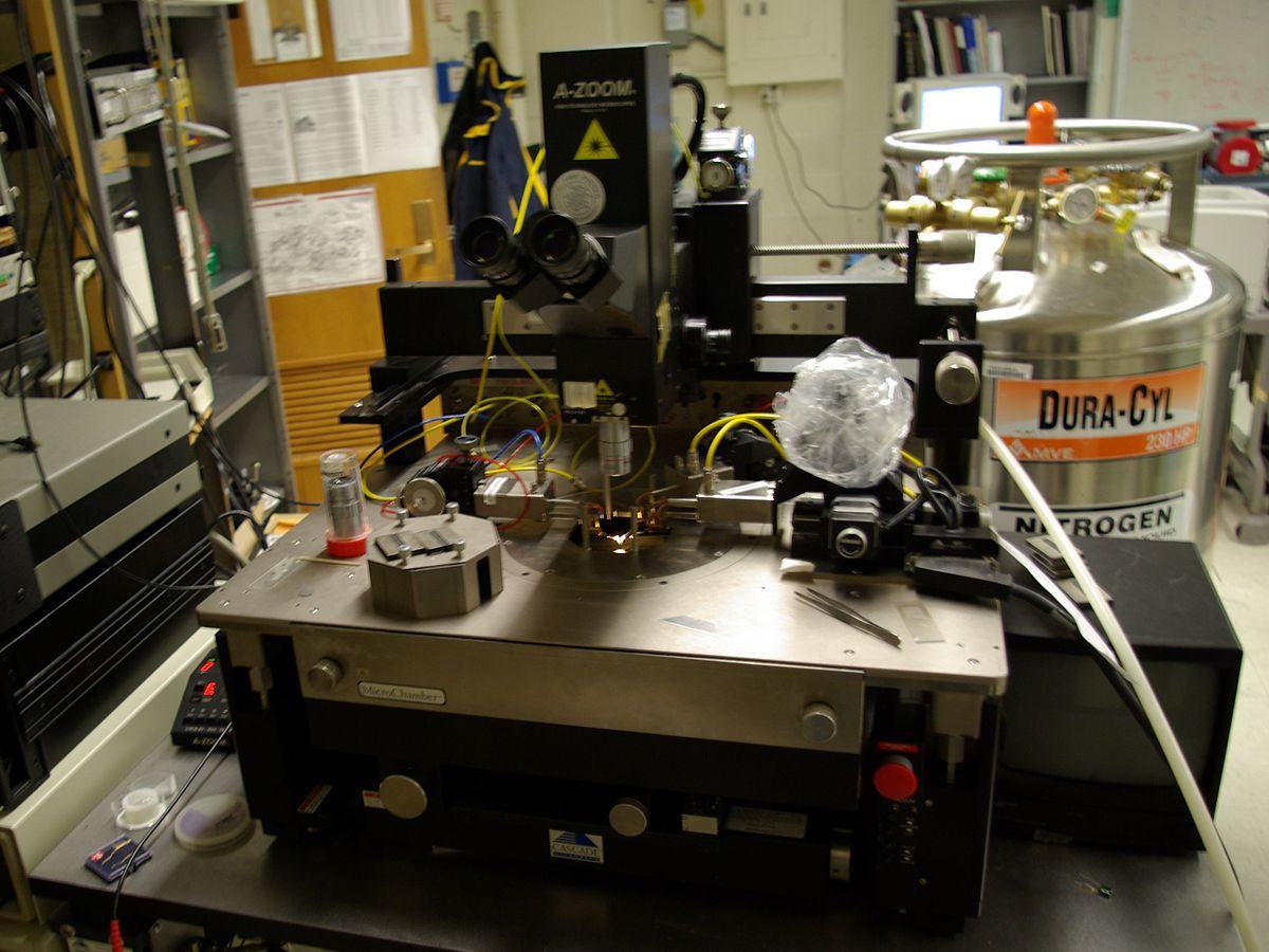 Mechanical Probe Station Wikipedia