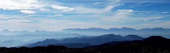 Cascade of mountain, Jiri Nepal2