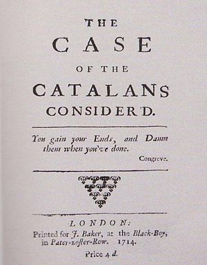 The Case of the Catalans considerd